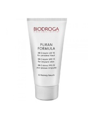 43753 - Biodroga PURAN FORMULA BB CREAM SPF 15 FOR IMPURE SKIN 02 HONEY TOUCH