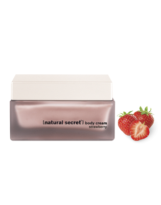 BC 1004 - Natural Secret STRAWBERRY BODY CREAM