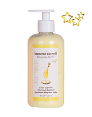 BL 1224 - Natural Secret PINA COLADA BODY GLOW LOTION