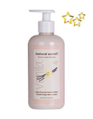 BL 1225 - Natural Secret VANILLA BODY GLOW LOTION