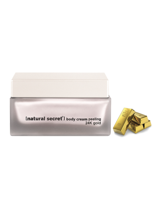 BS 1000 - Natural Secret 24K GOLD BODY CREAM PEELING