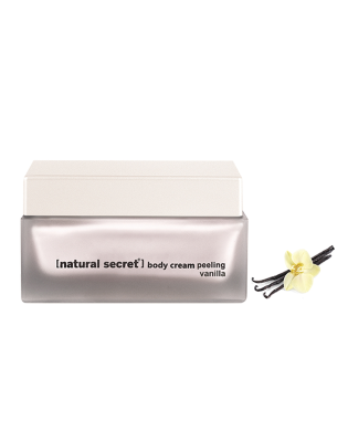 BS 1082 - Natural Secret VANILLA BODY CREAM PEELING