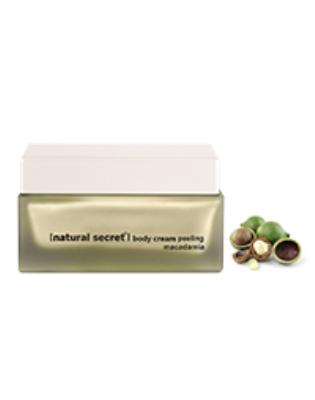 BS 1083 - Natural Secret MACADAMIA BODY CREAM PEELING