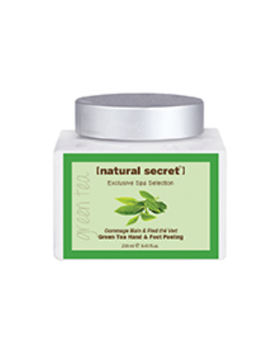 BS 1129 - Natural Secret GREEN TEA BLEND HAND & FOOT PEELING