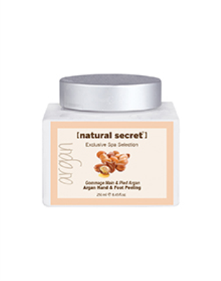 BS 1222 - Natural Secret ARGAN BLEND HAND & FOOT PEELING