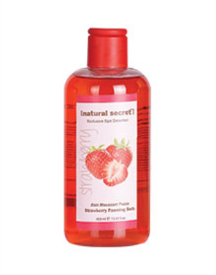 BT 1012 - Natural Secret STRAWBERRY FOAMING BATH