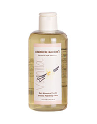 BT 1013 - Natural Secret VANILLA FOAMING BATH