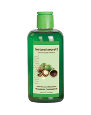 BT 1014 - Natural Secret MACADAMIA FOAMING BATH