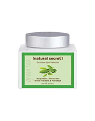 BW 1038 - Natural Secret GREEN TEA BLEND & FOOT MASK