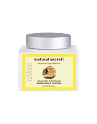 BW 1230 - Natural Secret BAOBAB BLEND HAND & FOOT MASK