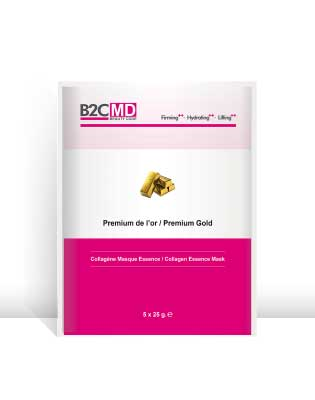 CMP - 1010 - B2C MD Premium Gold Collagen Essence Mask