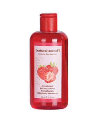 ES 1500 - Natural Secret AROMATHERAPY MILKY BATH, STRAWBERRY