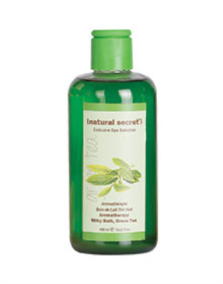 ES 1510 - Natural Secret AROMATHERAPY MILKY BATH, GREEN TEA