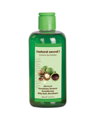 ES 1512 - Natural Secret AROMATHERAPY MILKY BATH, MACADAMIA
