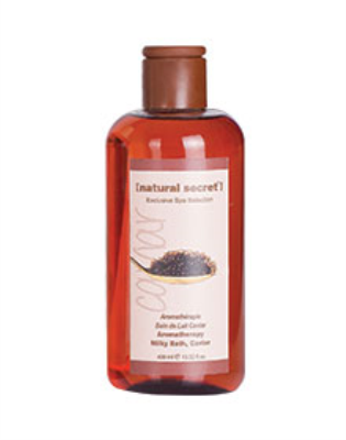 ES 1514 - Natural Secret AROMATHERAPY MILKY BATH, CAVIAR