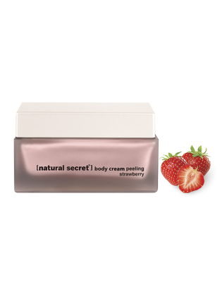 ES 1601 - Natural Secret STRAWBERRY BODY CREAM PEELING