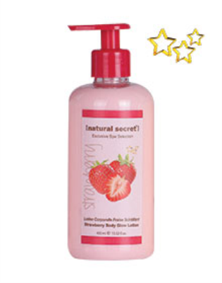 ES 1602 - Natural Secret STRAWBERRY BODY GLOW LOTION