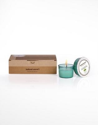 ES 1410 - Natural Secret GREEN TEA CANDLE BODY CARE & MASSAGE OIL
