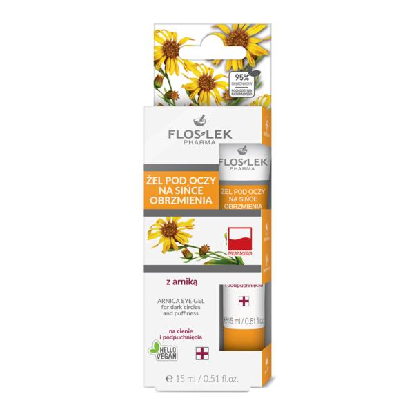 FL 0117 - Floslek Pharma ARNICA EYE GEL FOR DARK CIRCLES AND PUFFINESS