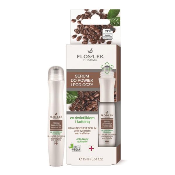 Floslek Pharma Lid & Under Eye Gel With Eyebright And Caffeine - Kafein İçerikli Göz Çevresi Aydınlatıcı Bakım Jeli