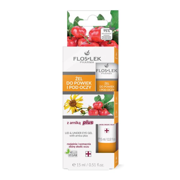 Floslek Pharma Lid & Under Eye Gel With Arnica Plus - Göz Kapağı Ve Göz Altı İçin Bakım Jeli