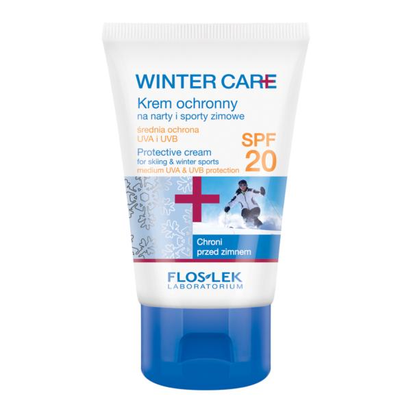 FL 1402 - Floslek Laboratorium WINTER CARE PROTECTIVE CREAM FOR SKIING & WINTER SPORTS SPF 20