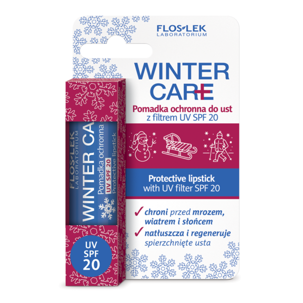 FL 1412 - Floslek Laboratorium WINTER CARE PROTECTIVE LIPSTICK WITH UV FILTER SPF 20