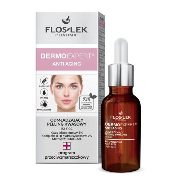 FL 6007 - Floslek Pharma DERMO EXPERT ANTI AGING REJUVENATING ACID PEEL NIGHT CARE