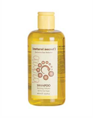 PE 1012 - Natural Secret BAOBAB STUNNING VOLUME SHAMPOO for FINE HAIR TYPES