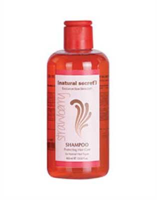 PE 1013 - Natural Secret STRAWBERRY PROTECTING HAIR CARE SHAMPOO for NORMAL HAIR TYPES