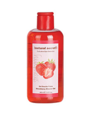 SW 1012 - Natural Secret STRAWBERRY SHOWER GEL