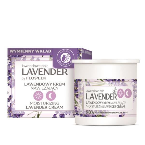 Floslek Laboratorium Moisturizing Lavender Day And Night Cream [REFILL] - Lavanta Özlü Gece-Gündüz Bakım Kremi